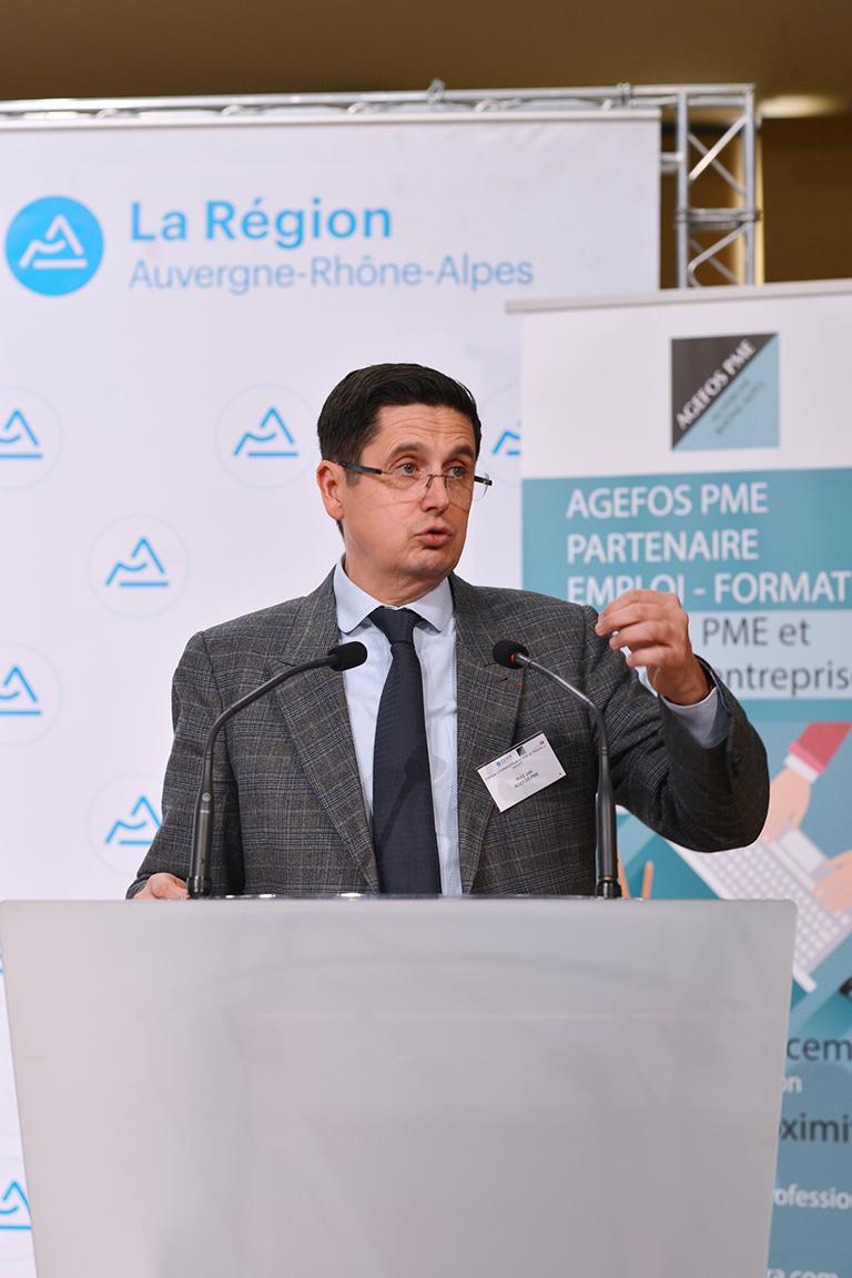 Colloque AGEFOS PME Auvergne-Rhône-Alpes/  CESER Auvergne-Rhône-Alpes