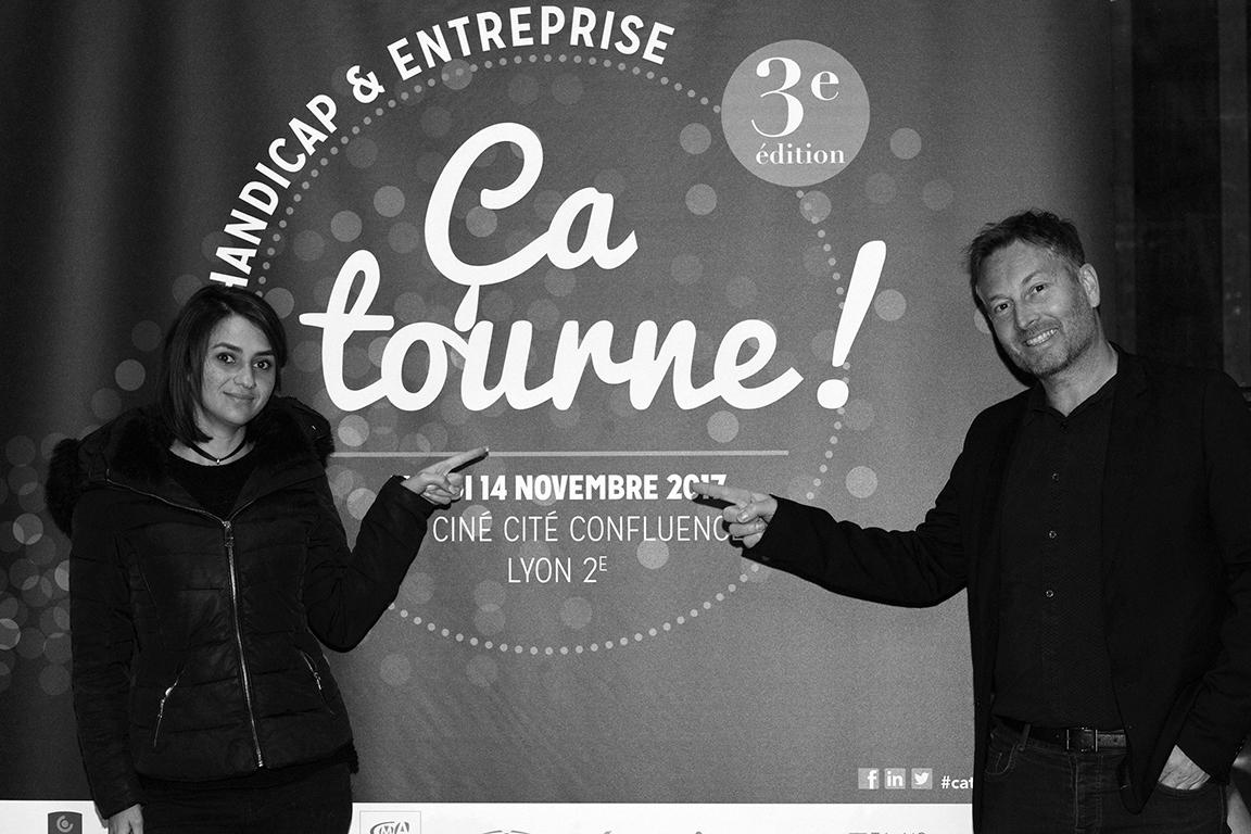 """Soirée """"Ça tourne"""" CPME/AGEFIPH Novembre 2017"""